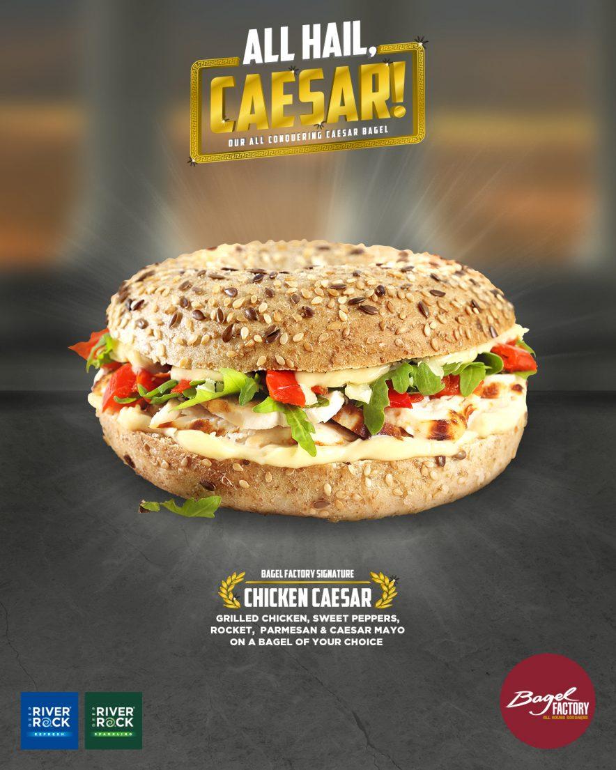 Bagel Factory - Hail Caesar